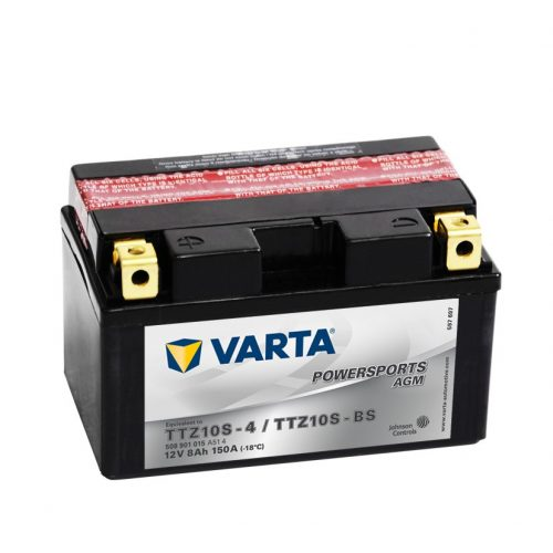 Varta - 12v 8ah - AGM motor akkumulátor - bal+ * YTZ10S-BS (TTZ10-BS)
