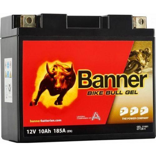 Banner Bike Bull Gel 12 V 10 Ah bal + 180 A GT12B-4