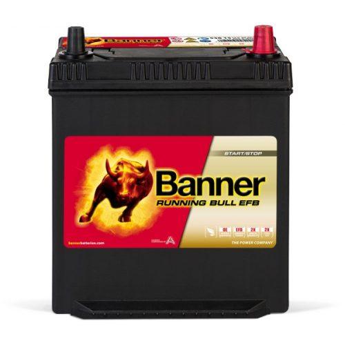 Banner Power Bull EFB 12V 38Ah 400A jobb+