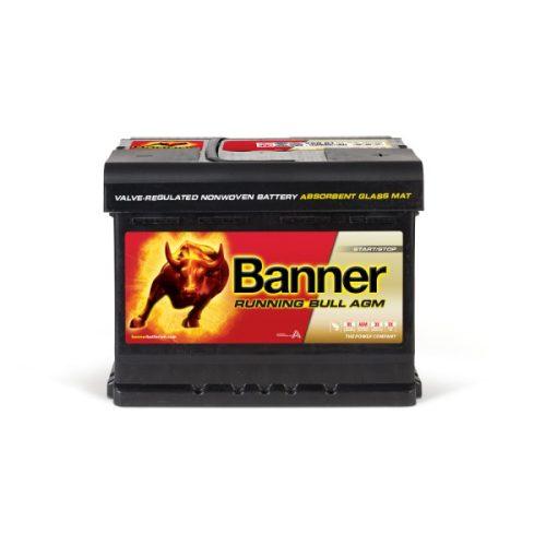 Banner Running Bull 12V 60 Ah AGM 640A jobb+