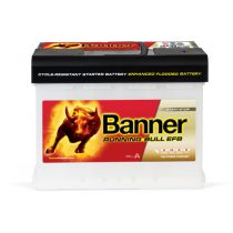 Banner Power Bull EFB 12V 60Ah 560A jobb+