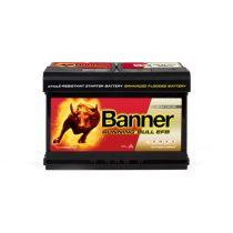 Banner Power Bull EFB 12V 65Ah 650A jobb+