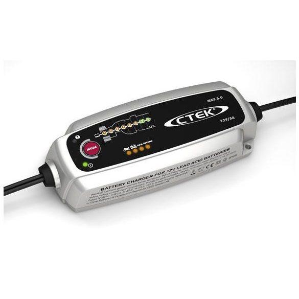 CTEK MXS 5.0 12 V 5 A akkumulátor töltő