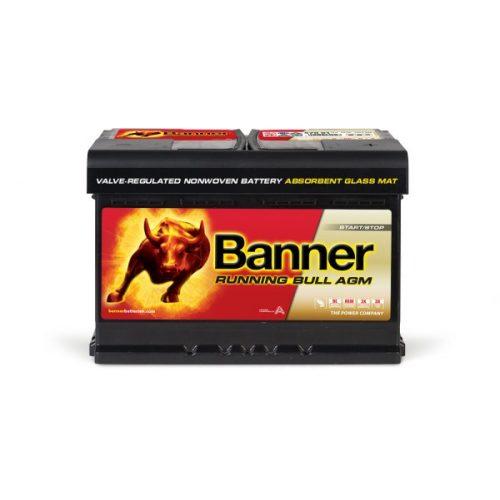 Banner Running Bull 12V 70 Ah AGM 720A jobb+