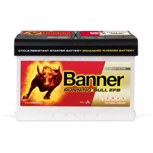 Banner Power Bull EFB 12V 70Ah 660A jobb+