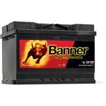 Banner Starting Bull 12V 72 Ah 650A jobb+