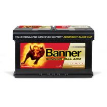 Banner Running Bull 12V 80 Ah AGM 800A jobb+