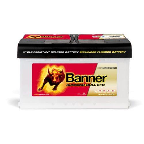 Banner Power Bull EFB 12V 80Ah 780A jobb+