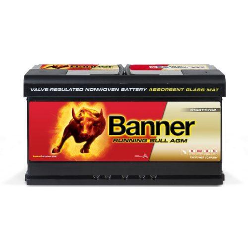 Banner Running Bull 12V 92 Ah AGM 850A jobb+