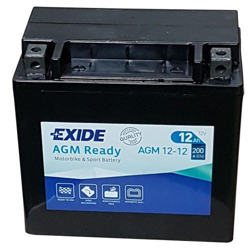 Exide AGM  READY 12-12 (YTX14-BS) 12 V 12 Ah 200 A bal +