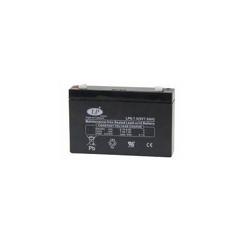 LP 6 V 7 Ah akkumulátor