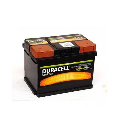 Duracell Started autó akkumulátor 12 V 55 Ah 450 A jobb +