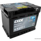 Exide Premium 12 V 64 Ah 640 jobb + EA640