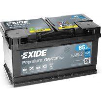Exide Premium 12V 85 Ah 800A jobb+