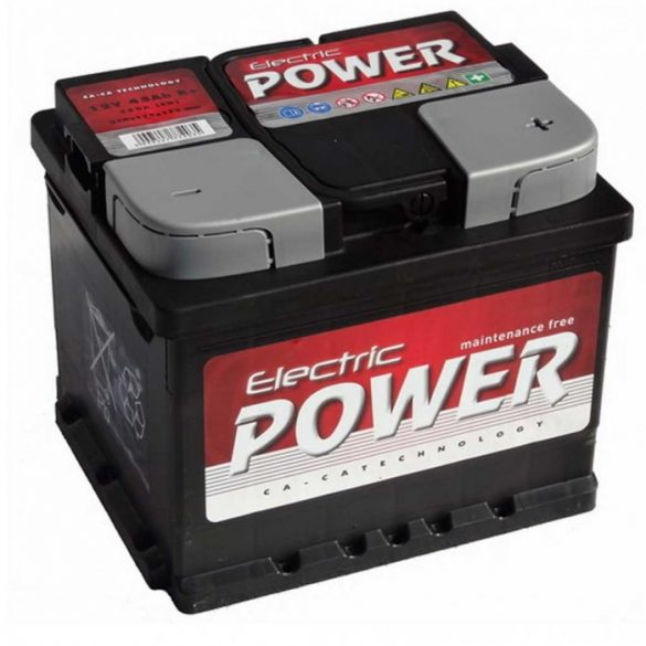 Electric Power 12 V 45 Ah jobb +