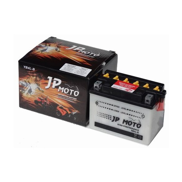 JpMoto yb4l-b 12V 4Ah jobb+
