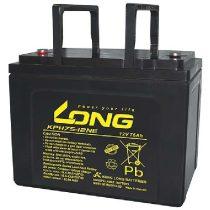 Long/Globe 12 V 75 Ah kerekesszék akkumulátor