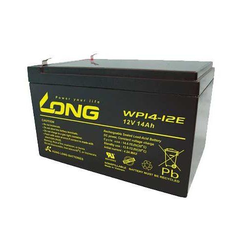 Long 12 V 14 Ah elektromos kerékpár akkumulátor
