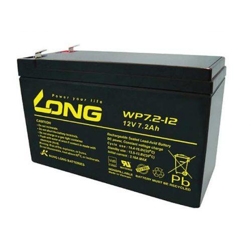 Long 12 V 7.2 Ah akkumulátor