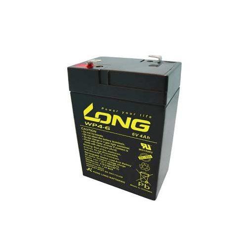 Long 6 V 4 Ah akkumulátor
