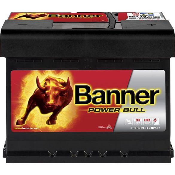 Banner Power Bull 12V 62Ah 550A jobb+