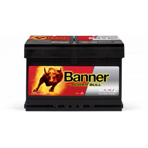 Banner Power Bull 12V 74 Ah 680A jobb +