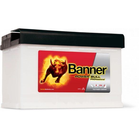 Banner Power Bull Professinal 12V 84 Ah 720A jobb+