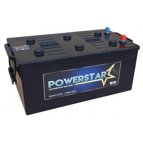 Powerstar 12 V 230 Ah 1300 A bal +