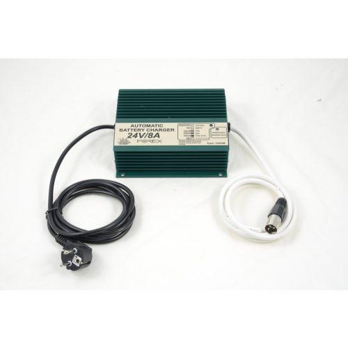 Forex akkumulátor töltő 24 V 8 A rokkant kocsikhoz