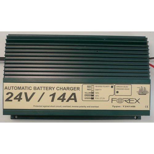Forex akkumulátor töltő 24 V 14 A