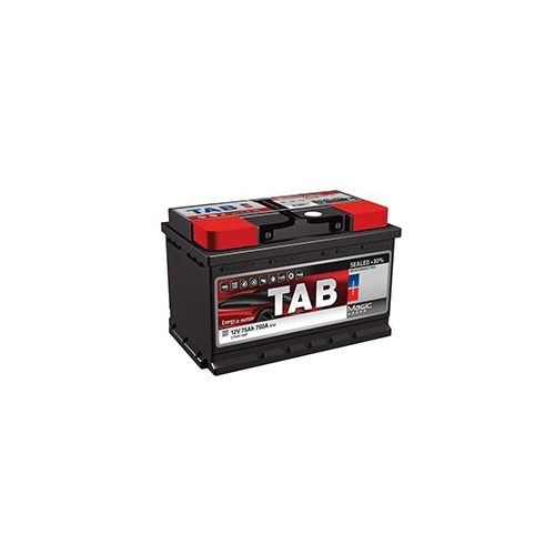 TAB Magic 12 V 75 Ah 720 A jobb + akkumulátor 175mm
