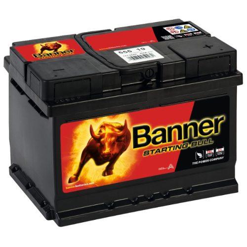 Banner Starting Bull 12V 55 Ah 450A jobb+