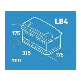12V 80-90 Ah 315mm eu