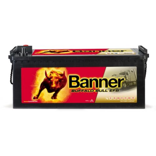 Banner Buffalo Bull EFB 12V 240Ah 1200A bal+