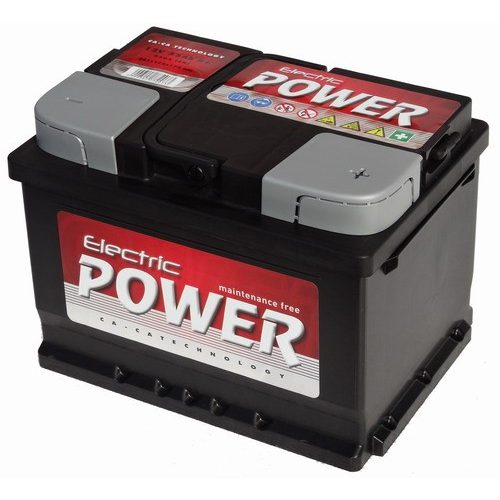 Electric Power 12V 60Ah 500A jobb+