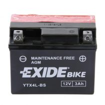 EXIDE YTX4L-BS 12V 3Ah Jobb+