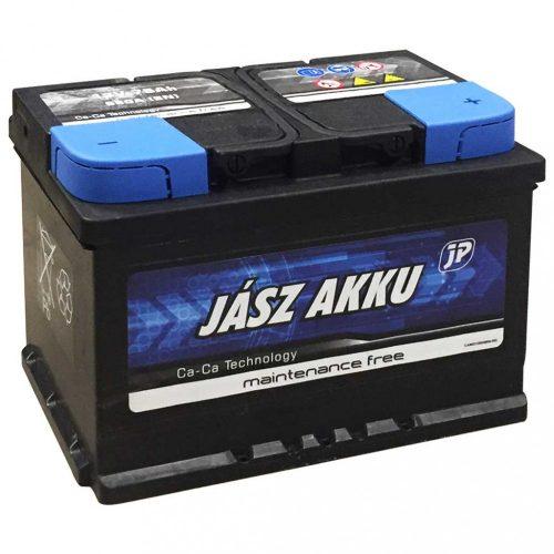 Jász Akku 12V 75 Ah 680A jobb+