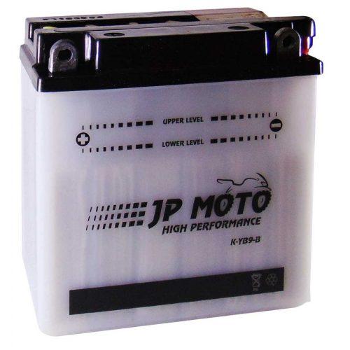 JP Moto YB9-B 12V 9Ah 90A bal+