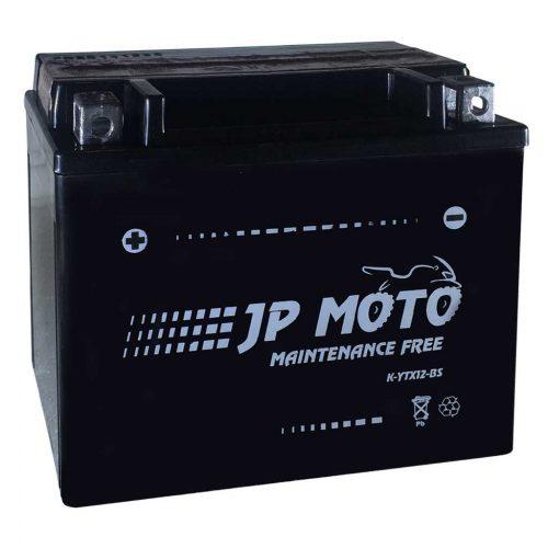 JP Moto YTX12-BS 12V 10Ah 160A Bal+