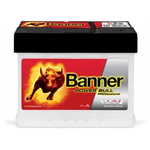 Banner Power Bull Professinal 12V 63 Ah 620 A jobb+