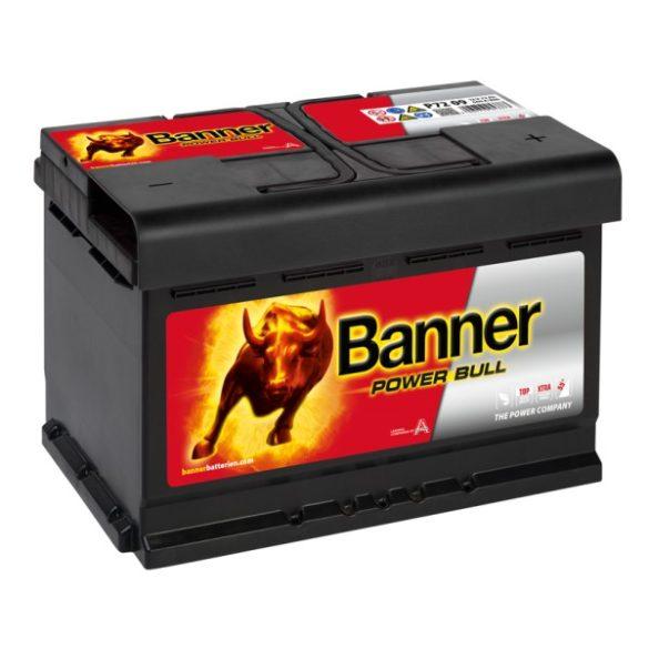 Banner Power Bull 12V 72 Ah 660A jobb +