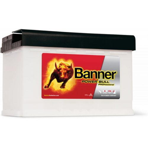 Banner Power Bull Proffesional 12 V 77 Ah 700 A jobb +