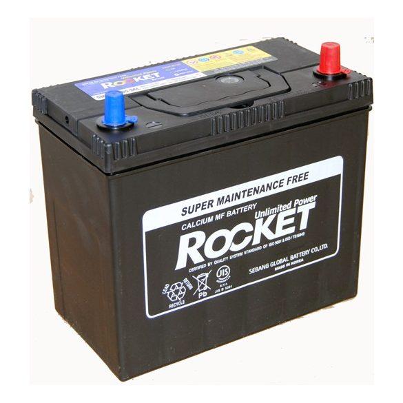 Rocket 12 V 45 Ah 430 A jobb + vékony saru