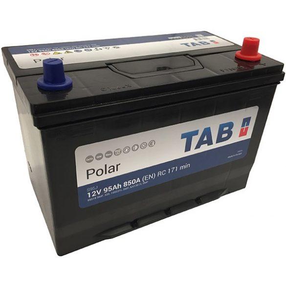 TAB Polar S 12 V 95 Ah 850 A japán jobb+