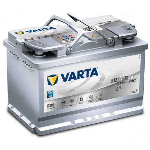 Varta Silver Dynamic AGM 12 V 70 Ah 760 A jobb +