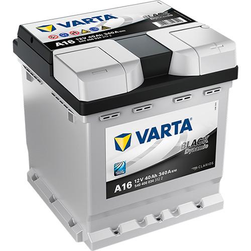 Varta Black Dynamic 12 V 40 Ah 340 A jobb +
