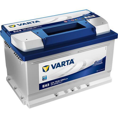 Varta Blue Dynamic 12 V 72 Ah 680 A jobb +