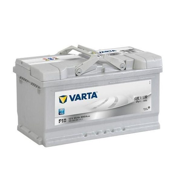 Varta Silver Dynamic 12 V 85 Ah 800 A jobb + akkumulátor