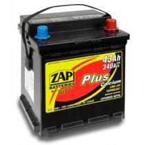 Zap Plus 12 V 43Ah Punto jobb+