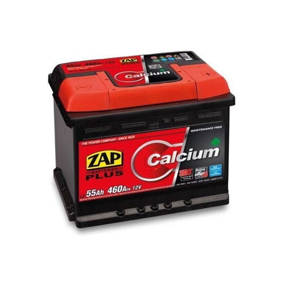 Zap Plus 12 V 55Ah 460 A jobb+